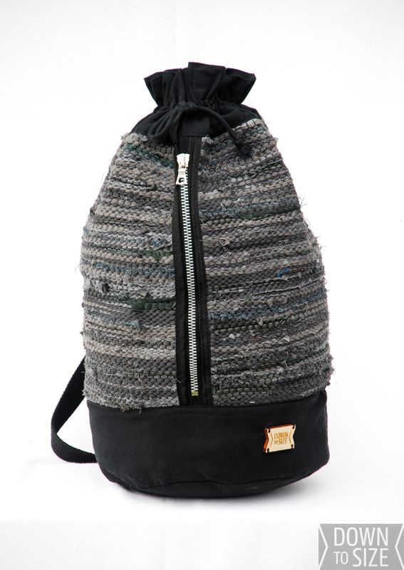 Down to Size Le Säk - bag Ecological fashion from Finland! www.downtosize.fi