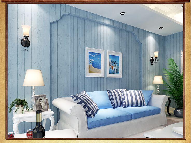 Деревенский обои деревянный обои гостиной стены фон papel де parede обои для спальни нетканые полоса обои купить на AliExpress