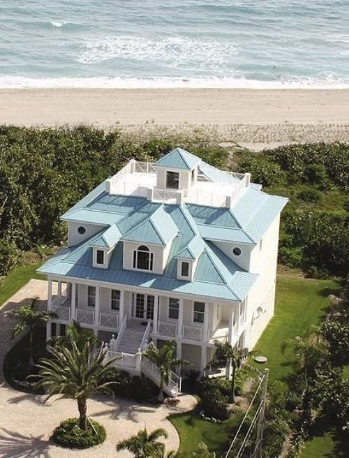 beach house -  #Home #Ocean & #OceanFront #Design  #View ༺༺  ❤ ℭƘ ༻༻