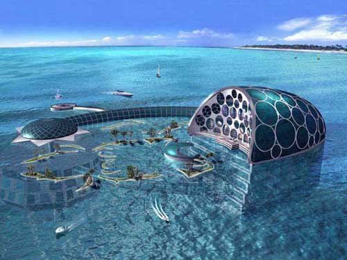 Underwater hotel in Dubai... AWESOME