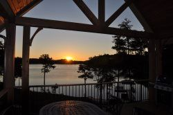 how could you not get used to this amazing sunset overlooking lake rh pinterest com