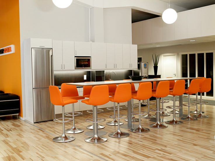 Vinga Orange Bar Stool Www Spaceist Co Uk Kitchen