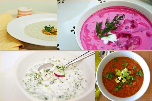 Jéghidegen jók: görög, lengyel, bolgár, spanyol zöldséglevesek