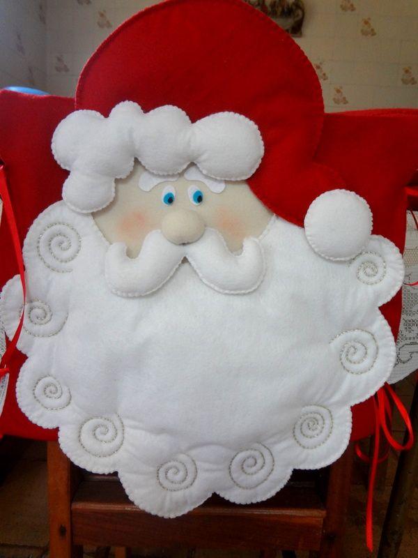 Capa de Cadeira Papai Noel (sala de jantar)