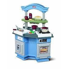 LITTLE TIKES - SIZZLE 'N' POP KITCHEN - Everything needed to get cooking