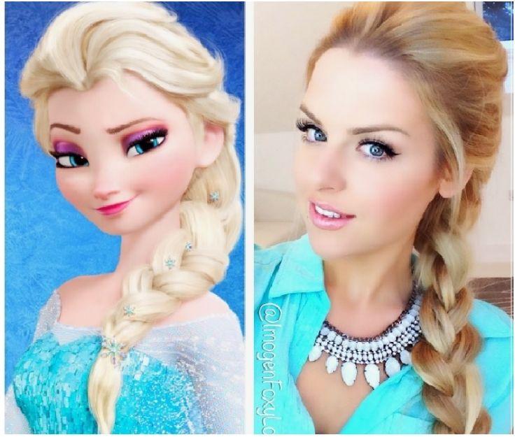 Disney Hairstyles linna 6 Hairstyle Tutorials From Disneys Frozen