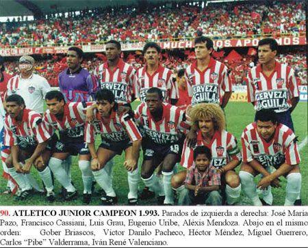 Atletico Junior De Barranquilla: JUNIOR EN EL AÑO1993