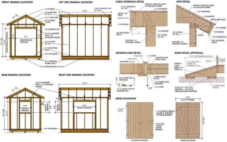 DIY Woodworking Ideas Black And Decker Shed Plans