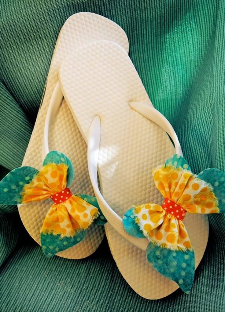 Sizzix: Flip Flops by: Debi Adams