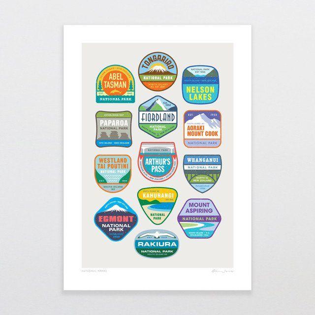 National Parks | Glenn Jones Art New Zealand