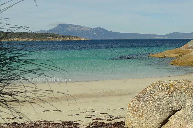 Looking towards Cape Barren Island, Trousers Point, Flinders Island