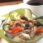 Granola faible en sucre et sans gras