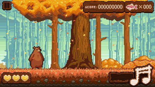 filbertgames:  Beat Bear explores the wonders of the fall...