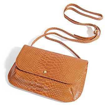 VIDA Leather Statement Clutch - Hexagram 22: Pi by VIDA