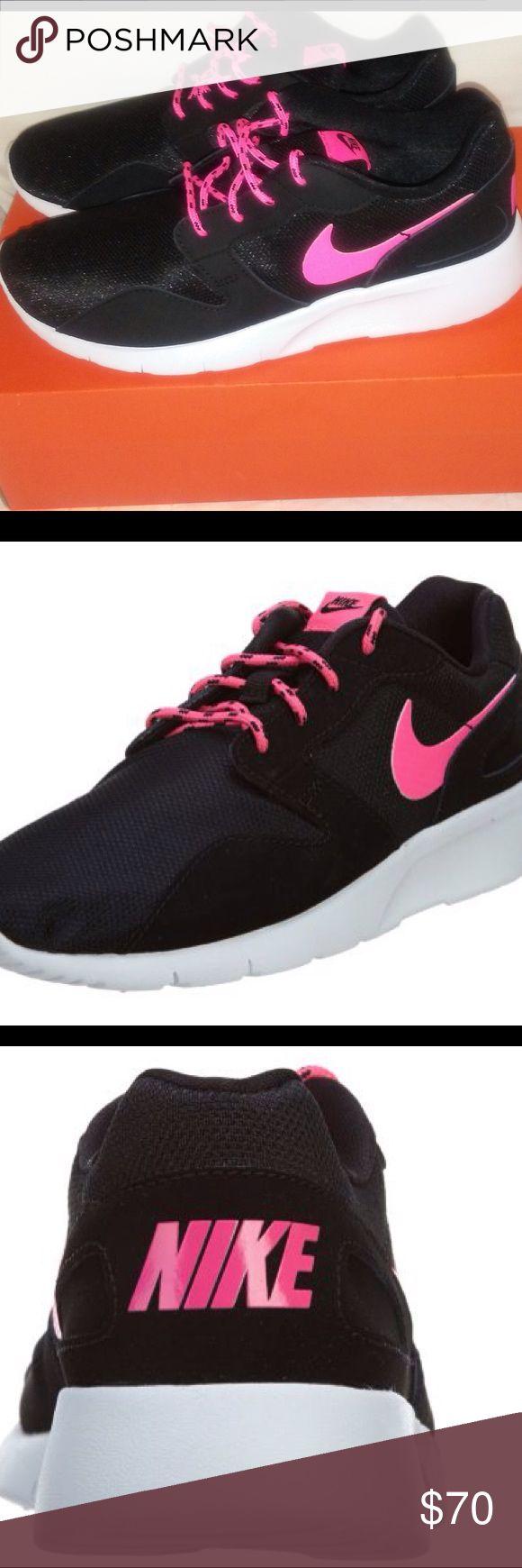 Nike Kaishi Black Pink Running Shoes Size 6.5 Nike Kaishi GS Black Pink Running Shoes Big Girls Nike Shoes Sneakers