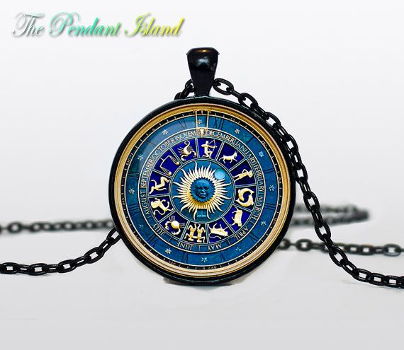 "FAVORITE ITEM I think this is absolutely gorgeous! Definitely a favorite item... I would love this as a gift! If possible: Ask seller if arrow could point at ""Gemini"" symbol? Item Info: ""Zodiac circle Necklace, Zodiac circle Pendant Zodiac circle jewelry Zodiac Sign Pendant, Constellation Jewelry Art gift for men"" by ThePendantIsland on Etsy"