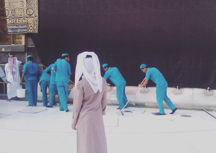 Is this the best job in the world? #Makkah #bestjobintheworld #thehajjco #hajj #islam #muslim #pray