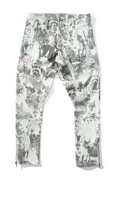 Missie Munster Keeper Jean is a stunning printed Animal theme for Winter. #winterfashion #girls