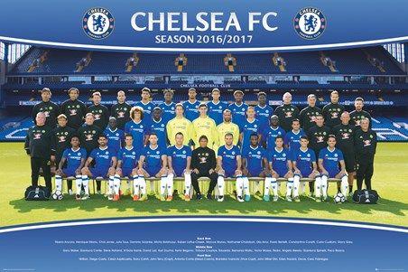 16/17 Squad - Chelsea Team Photo