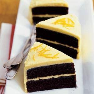 Great British Bakeoff inspiration: Chocolate Orange Victoria Sponge