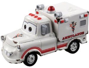 Takara Tomy Tomica Disney Cars C-32 rescue Go Go Meter (ambulance type)