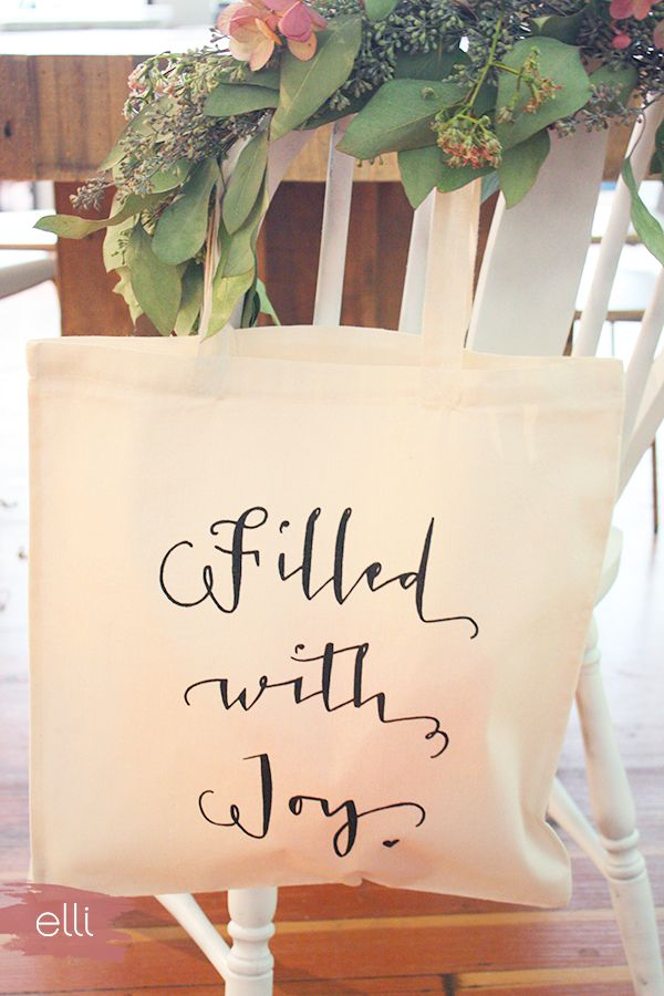 Favorite bridesmaids gift idea Personalized tote bags