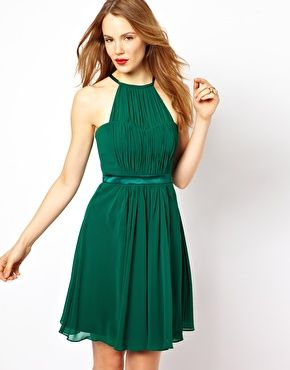 Green Coast Behnaz Short Dress