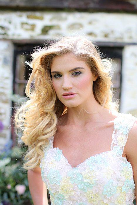 Joanne Pearson MUA smokey coral bridal makeup