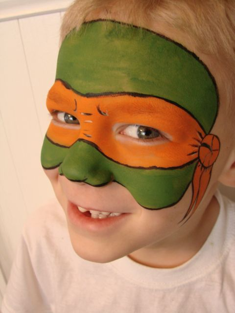 Ninja Turtle Mask! | Face Paint Designs | Pinterest ...