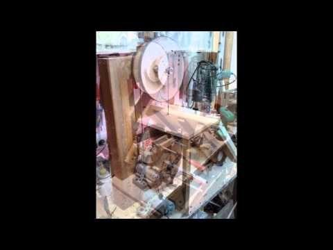 homemade band saw, El yapımı şerit testere
