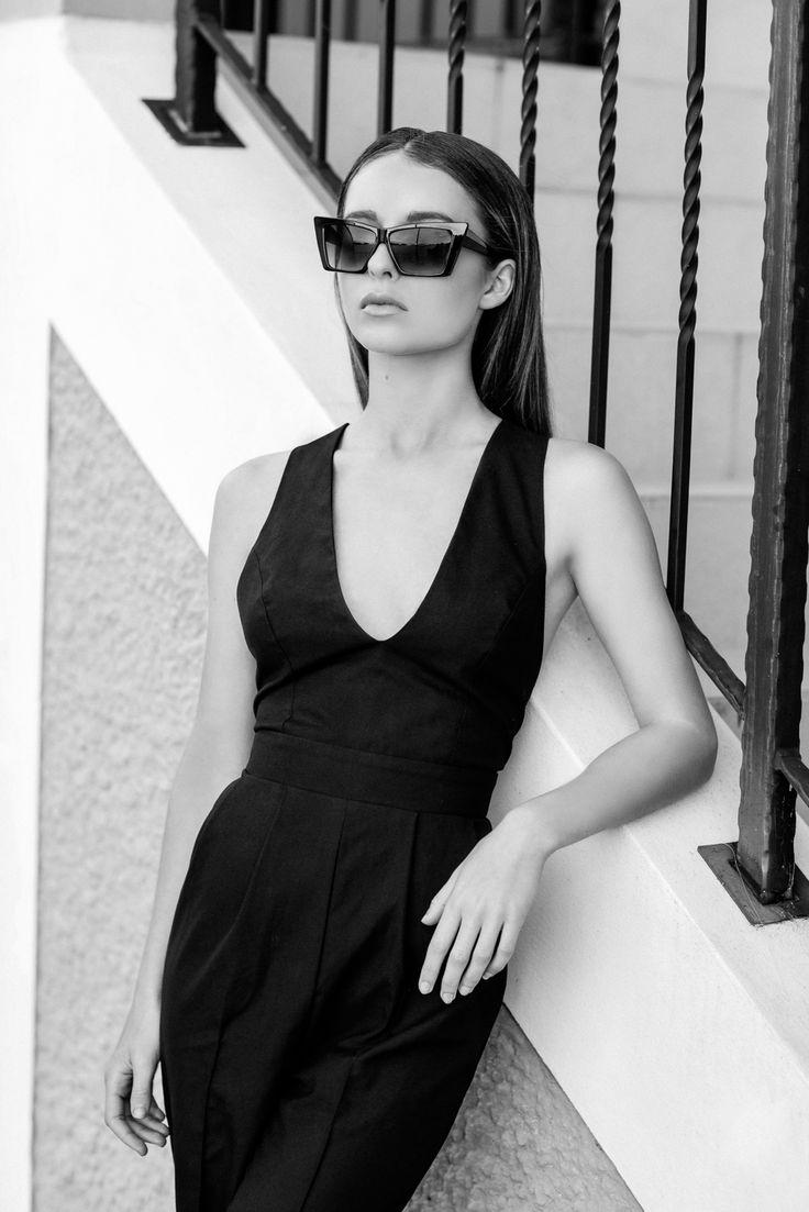 A Parisian Romance | Frock Paper Scissors Stylist: Kelsey Rea Photographer: Camilla Kirk Model: Isabelle Gordon HMUA: Holly Rea Jumpsuit: Sinead James
