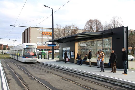 Stadtbahn Glattal (Switzerland) - lot of space and seats