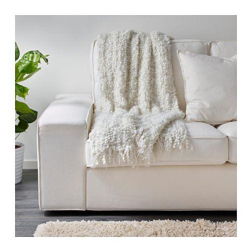 OFELIA Throw, white white 51x67