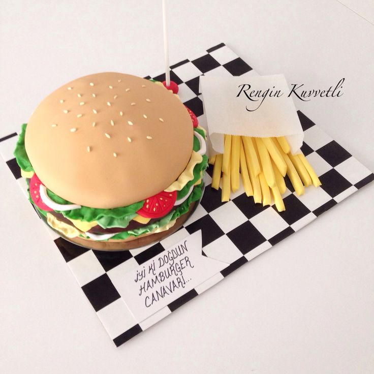 Hamburger Cake / Hamburger Pasta