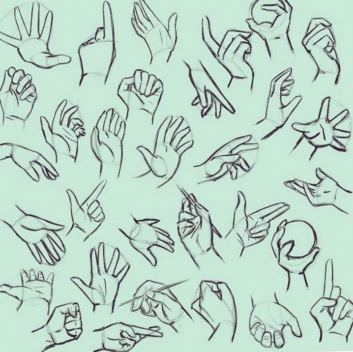 16 Drawing Hand Poses Anime Hand Drawing Reference Drawing Reference How To Draw Hands