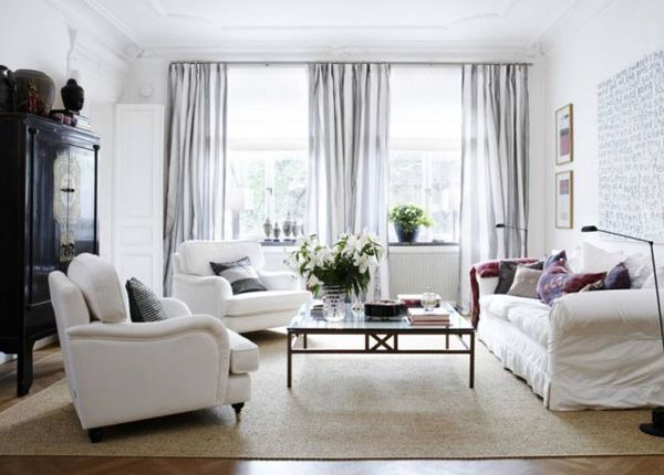 CLICK ON LINK AND GET 5 TIPS HOW TO HANG YOUR CURTAINS FOR PERFECT WINDOWS - http://inredningsvis.se/gardiner-5-tips-snygga-fonster/