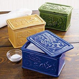 Incroyable Salt Boxes