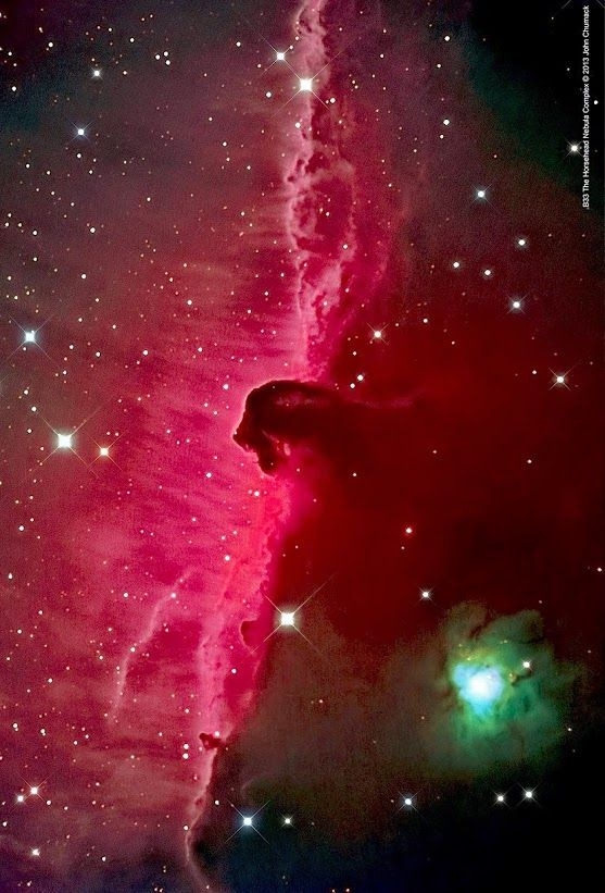 Horsehead Nebula   NGC : 2023  Source  :  Hubble Space Telescope