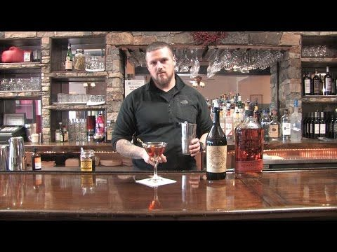 The best ever Bourbon Manhattan drink recipe from Daddy Jack's New London - best drink recipes - http://2lazy4cook.com/the-best-ever-bourbon-manhattan-drink-recipe-from-daddy-jacks-new-london-best-drink-recipes/