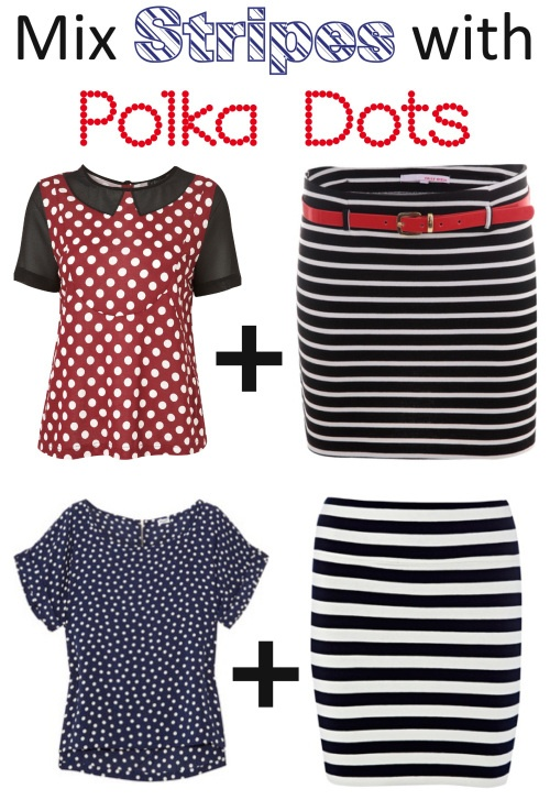 19 best STRIPES  POLKA DOTS TOGETHER images on Pinterest Polka - stripes with polka dots