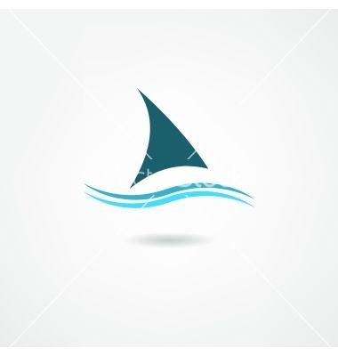 """Logo für """"Hart am Wind segeln"""" """"Segel richtig setzen"""""""