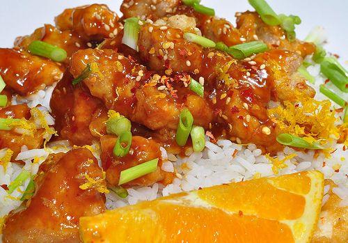 Slow Cooker Chinese Orange Chicken - Gluten Free!: Chicken Crock Pots, Chicken Recipes, Chinese Orange Chicken, Gluten Free, Slow Cooker, Orange Chicken, Chine Orange Chicken, Orange Juice, Chicken Breast