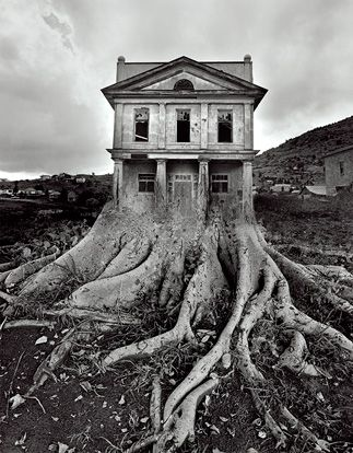 Artist Mathieu Schmitt has 3D printed a magical and haunting landscape. His work, is what I imagine Bill Brandt's imagery would be in 3D – absolute blacks and glimpses of a subtly distorted and emotionally charged landscape.