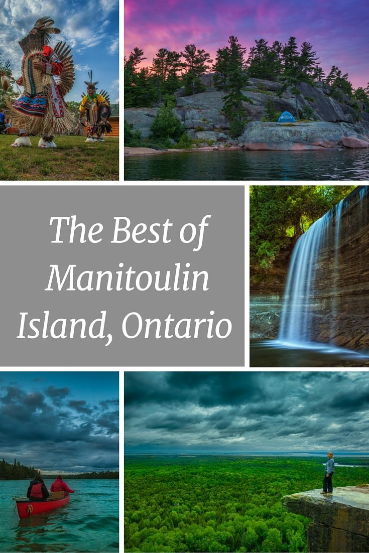 The Best of Manitoulin Island, Ontario | Part of the Niagara Escarpment, Manitoulin Island offers some amazing nature experiences, and here are our top picks for what you can't miss. | The Planet D Adventure Travel Blog