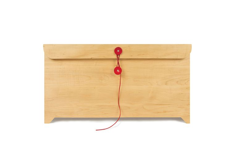 Envelope chest from Field Day. This would make a perfect toy box.