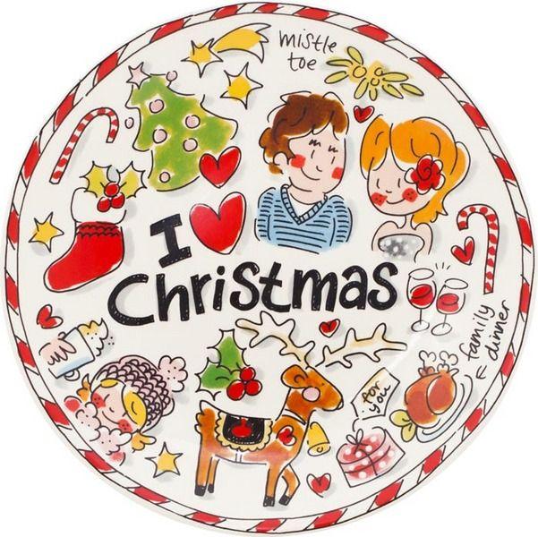 Ontbijtbord Kerst Rendier