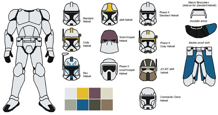 Clone trooper armor by Igor Kutuzov Disguise Deze Guys