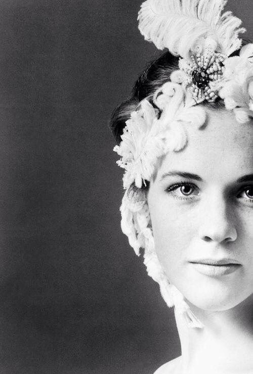 Julie Andrews photographed by Cecil Beaton