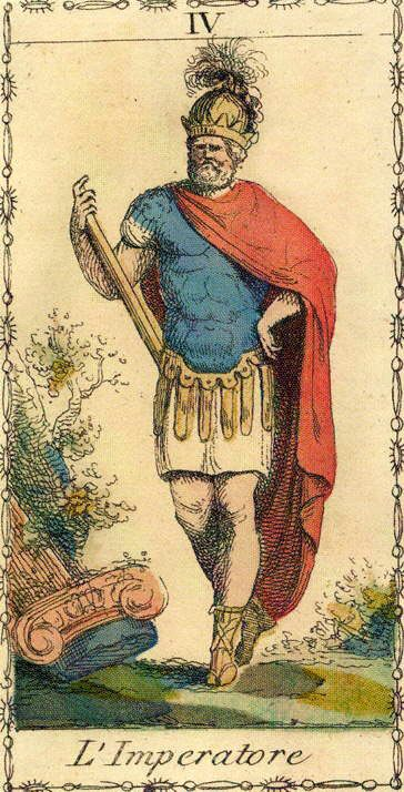 The Emperor - Ancient Tarot of Lombardy