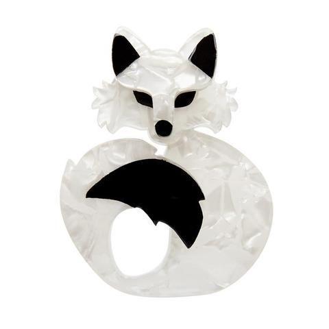 Erstwilder She's so Foxy Brooch